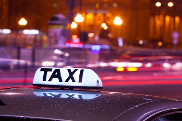 Société de taxis VTC